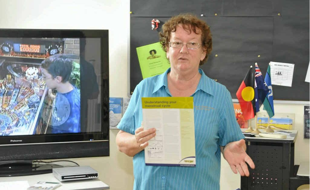 USEFUL TIPS: Brenda Beauchamp at The Women's Health Centre.