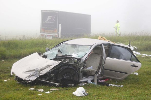 A study showed that one-third of road fatalities on a national highway in NSW happened on the Pacific Hwy.