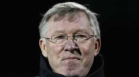 Manchester United manager Alex Ferguson.