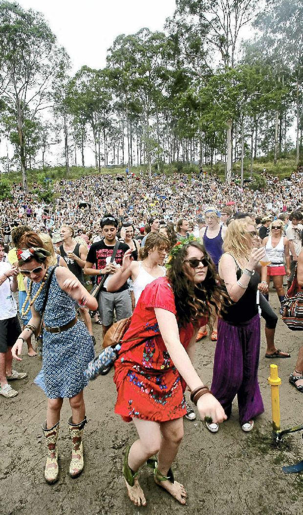 The region's economy will reap the benefit of the massive crowds expected at Woodfordia this year.
