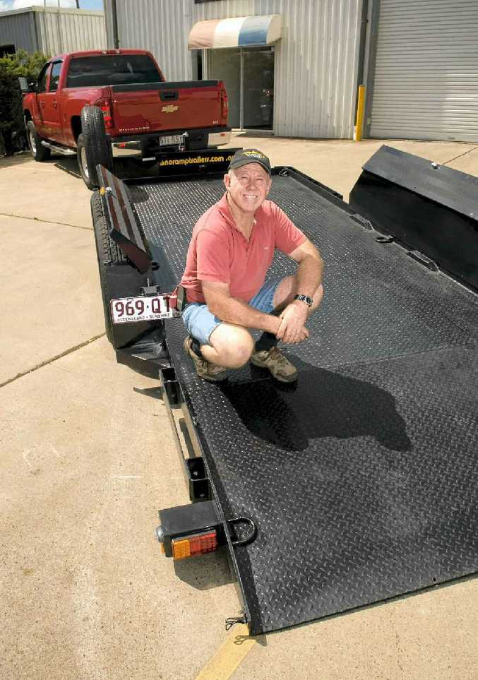 Doug Spark of No Ramp Trailers says his company has the most innovative utility trailers on the market.