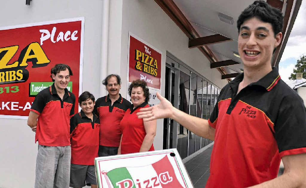 The Vaticano family will welcome customers to their new Warwick store from today.