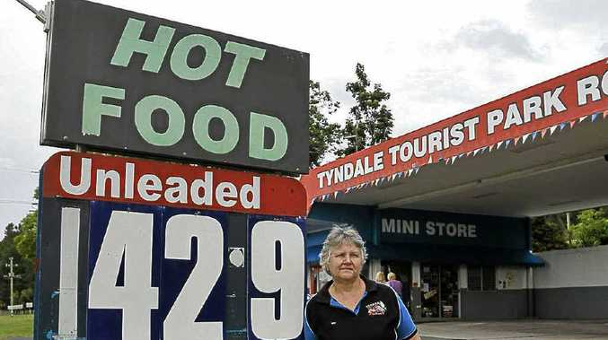 The Tyndale Tourist Park and Roadhouse sells unleaded petrol at 142.9 cents a litre.