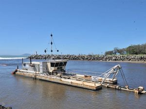New sand shifting plan for harbour