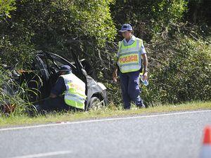 Girl dies after highway crash
