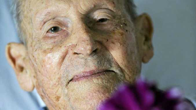 Cecil Goulding will celebrate his 100th New Year's Eve this year despite being poisoned by a vandal at his property last year.