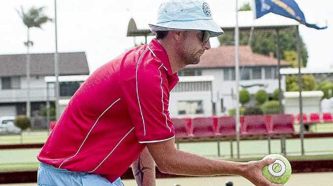 Summerland Pairs Bowls Competition, in Ballina, Troy Makin.
