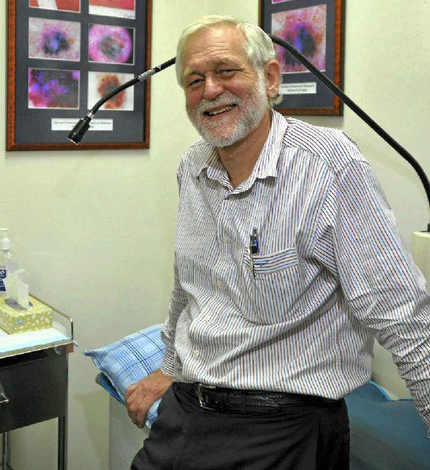 Dr Stephen Rigby is urging people to get regular skin checks.