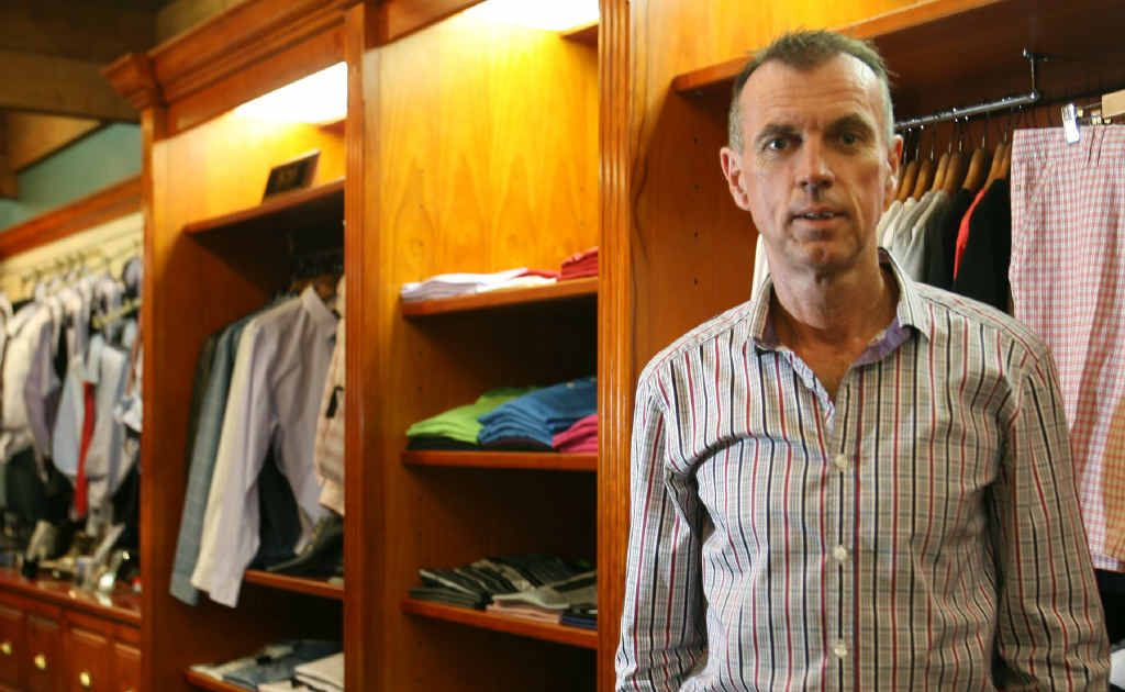 Mark Bunt, owner of Rockhampton's Mark Bunt's Menswear, is glad the year has ended on a good note, with Christmas trading in the region experiencing one of the best seasons yet.