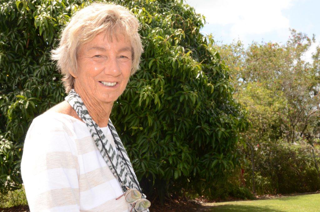 Maureen Goodman suffers from a rare allergy to swamp gum pollen.