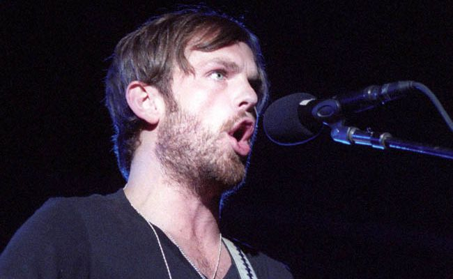 Kings of Leon frontman Caleb Followill.