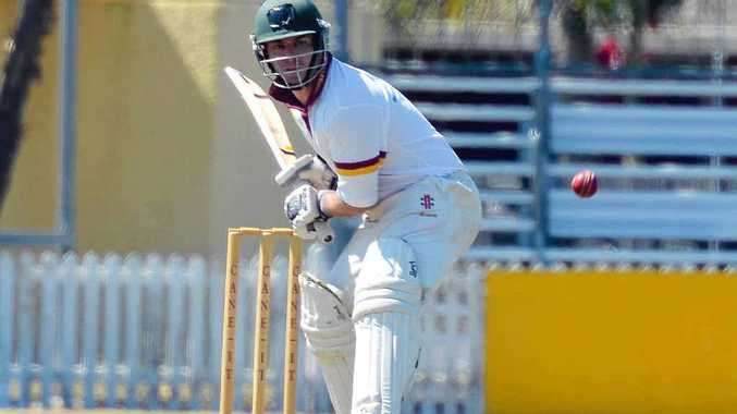 Bundaberg's Josh McLean in action against Gympie at Salter Oval. He will represent Queensland at the Australian Country Championships.