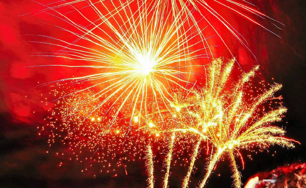 Enjoy the fireworks display out at Allora this New Year's Eve.