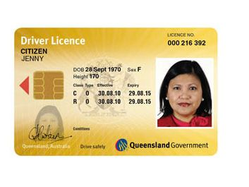 Qld drivers licence fees for california