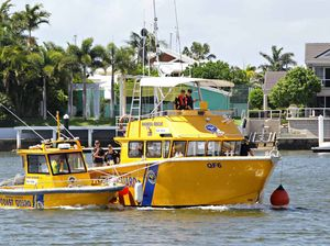 Boat retrieved from just off Great Keppel Island