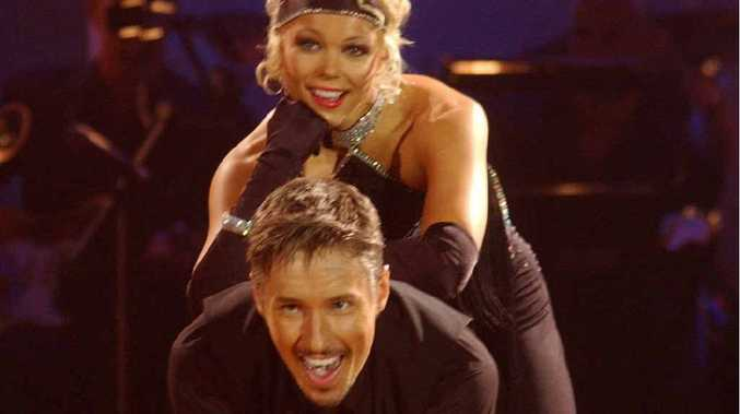 Mark Hodge and his Dancing with the Stars series one partner, actress and TV presenter Holly Brisley.