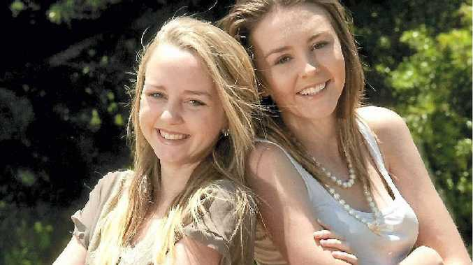 Sisters Lily (left) and Hebe Goddard are part of a new youth group in Toowoomba called G-Youth and can't wait to get started.