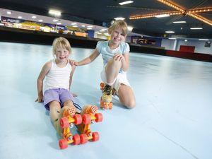 Skating rink back in action