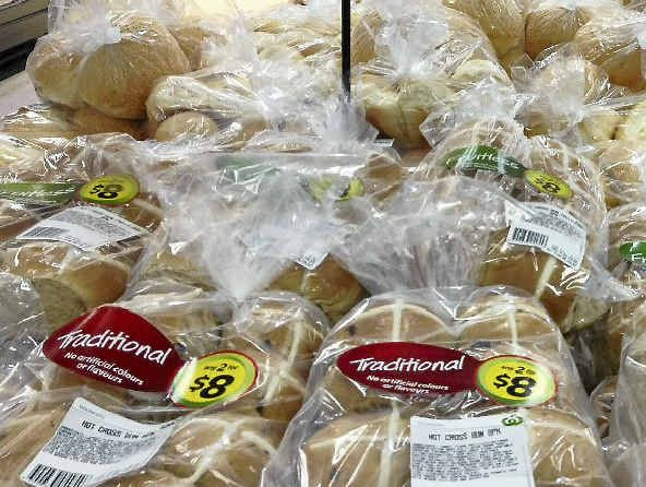 Hot cross buns are already being sold,  three months out from Easter Sunday.