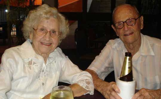 MAJOR MILESTONE: Whitsunday residents Bill and Sylvia Cordingley celebrated their 70th wedding anniversary on Tuesday.  Photo Contributed