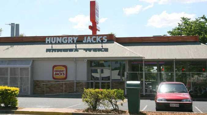 North Rockhampton's Hungry Jack's restaurant at Aquatic Place.