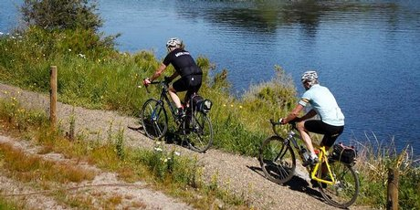 Phil Taylor, with friend Jackson Foster, cycled the section of the Waikato River Trails from Karapiro to Atiamuri.