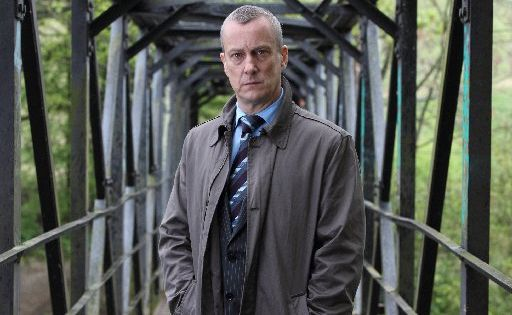 Stephen Tompkinson in a scene from the TV mini series DCI Banks. Supplied by BBC.
