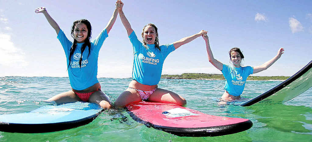 The national Girls Go Surfing Day returns to Coolum and Mudjimba beaches this month.