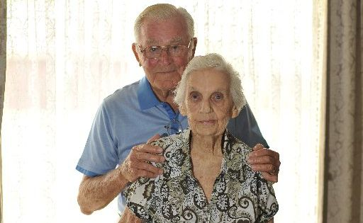 Joe and Moya Hutchieson are celebrating 70 wonderful years of marriage.