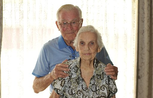 Joe and Moya Hutchieson are celebrating 70 wonderful years of marriage.