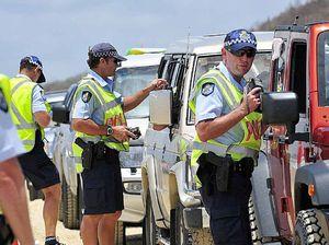 Police blitz on roads, beaches, night spots