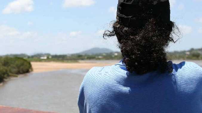 Jonah jumped off a boat at Hay Point on December 27, seeking asylum in Australia.