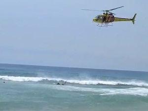 Kawana Beach Helicopter Rescue