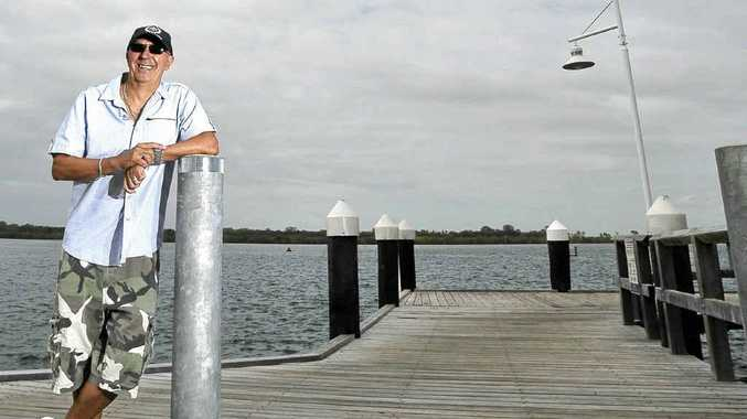 Glenn Costello from the Ballina Chamber of Commerce and Industry will be campaigning for a marina to be built in Ballina.