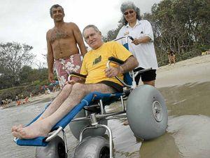 Wheelchair's a liability risk