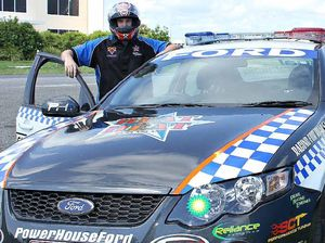 Put your foot down and race: police