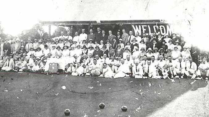This photo appears to be at a bowls club competition day, however it is unknown which bowls club or what date it was taken.
