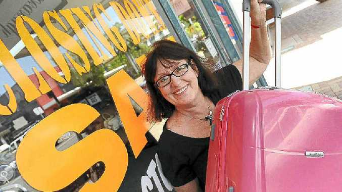 Pauline Melville, owner of long-time Bundaberg shop Cavanagh's Bag Store, is moving location and shifting her focus more to luggage to keep up with changing trends.