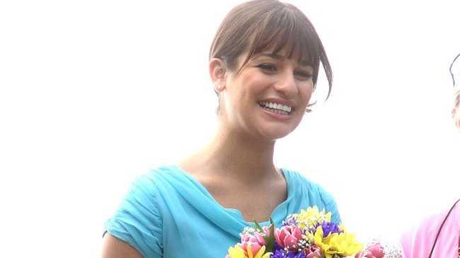 Glee's Lea Michele.
