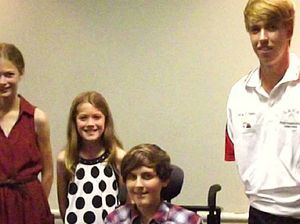 Taverners help out young athletes