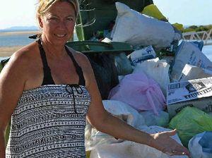 Marina bins are causing a stink