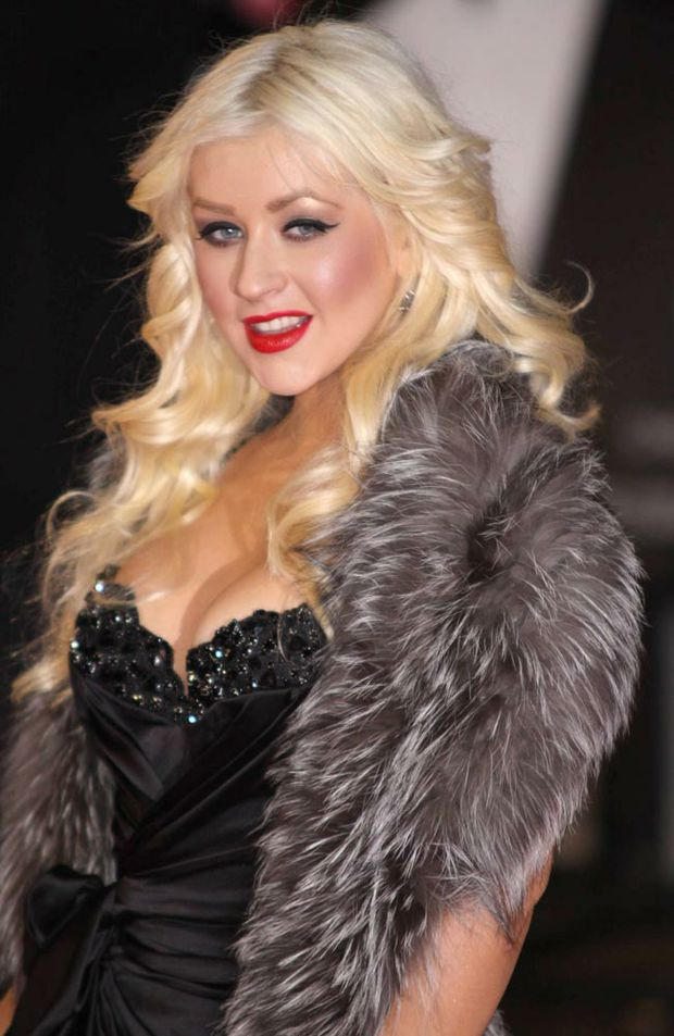 Christina Aguilera, one of the judges on the US version of The Voice.