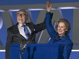 Streep steely in turn as Iron Lady