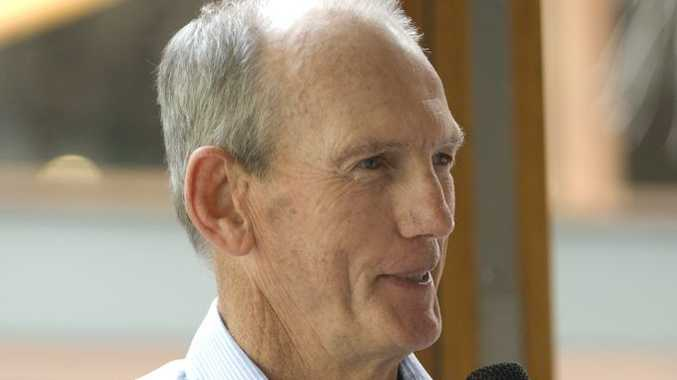 Brisbane Broncos coach Wayne Bennett will take on the head coaching role for England.