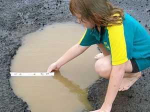 Anger at pothole damage
