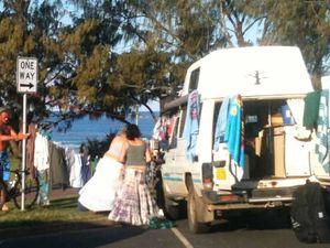 'Vanpackers' degrading Byron Bay