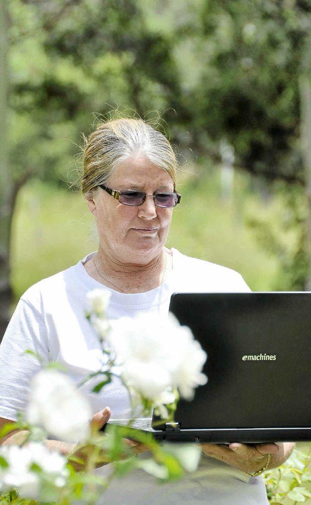 Liz Andrews has lobbied to get a doctor in Bonalbo.