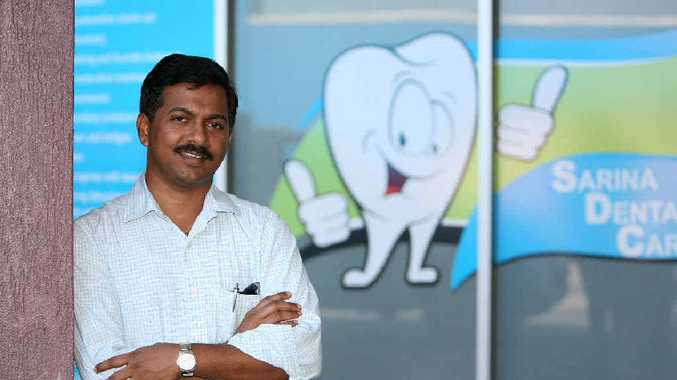 Dr Raghu Channapati is opening a new clinic, Sarina Dental Care.