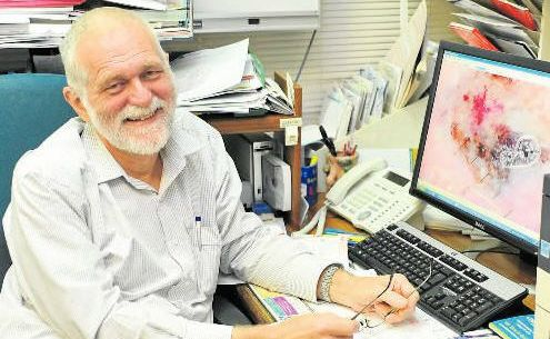 Beware Changes: Dr Stephen Rigby at the Gladstone Central Medical Centre.