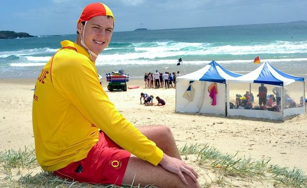 Lifeguards and lifesavers are pleading with beachgoers to exercise commonsense in the surf.